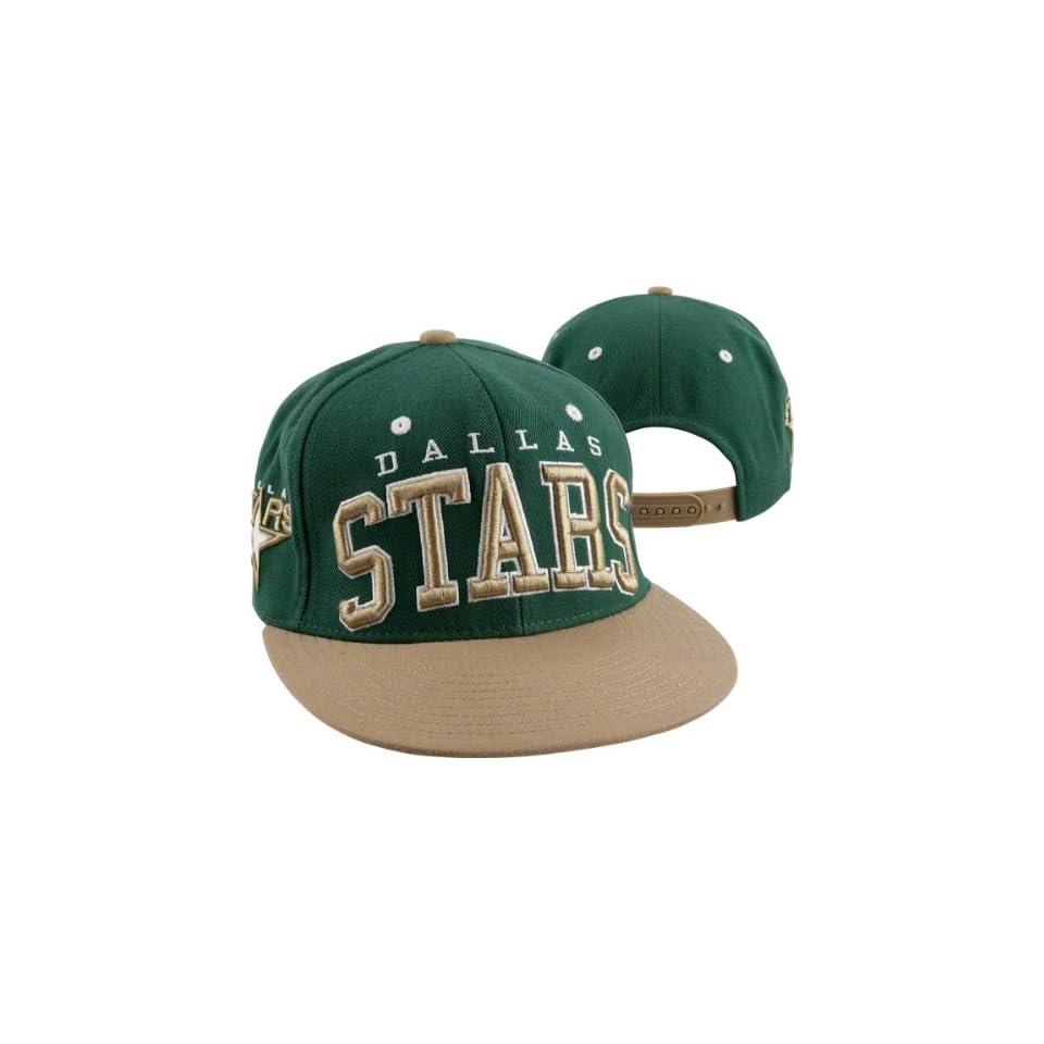 69c71c76055 NHL Dallas Stars Reebok Snapback Hat (Black Green) on PopScreen