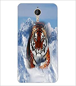 PrintDhaba Tiger D-3699 Back Case Cover for LETV (LE ECO) LE 1 PRO (Multi-Coloured)
