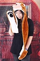 Monkey Animal Hat with Paws