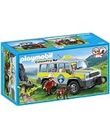 Playmobil - 5427 - Figurine - Véhicule Avec Secouristes De Montagne