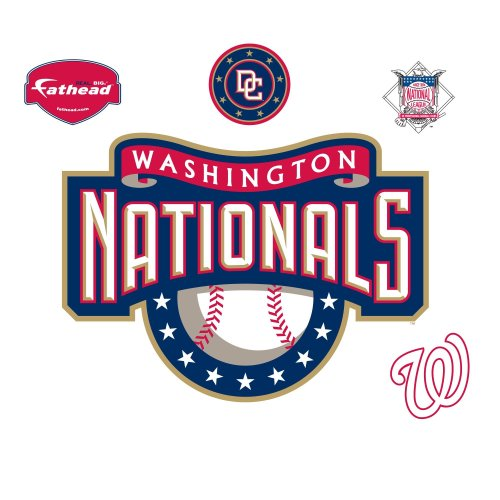 Fathead Washington Nationals Logo Wall Decal at Amazon.com