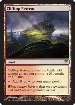 Magic: the Gathering - Clifftop Retreat - Innistrad - 1