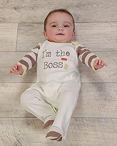 The Essential One - Unisex Mono para bebé I'm the Boss logo EO192