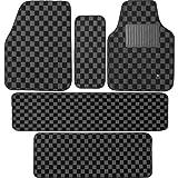 BONFORM ( ボンフォーム ) カーマット クワトロ フロアマット ミニバン5点セット グレー 6392-65GR