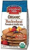 Arrowhead Mills Organic Buckwheat Pancake & Waffle Mix, 26 Ounce (Pack of 6)