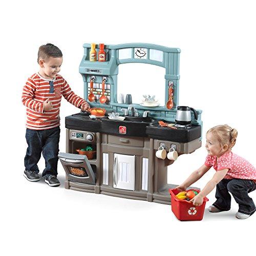 Step2 Best Chef's Kitchen Set, Blue/Black/Brown (Step 2 Play Kitchen compare prices)