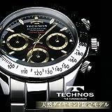 TECHNOS テクノス クロノグラフ 限定モデル メンズ 腕時計 T4286SH