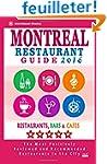 Montreal Restaurant Guide 2016: Best...