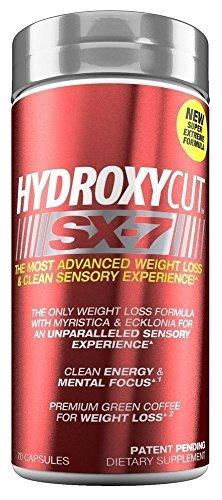 MuscleTech produits - Hydroxycut SX-7 - 70