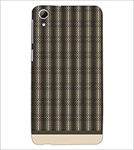 PrintDhaba Pattern D-1580 Back Case Cover for HTC DESIRE 826 (Multi-Coloured)