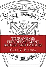 Amazon Time2Color Fire Department Badges And Patches