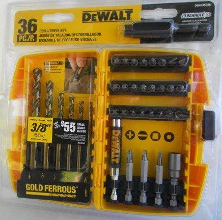 DeWalt Drill/Drive Set DWA19SD36 - 36 Piece