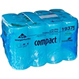 Georgia-Pacific Compact 19375 Coreless 2-Ply Bathroom Tissue (Case of 36 Rolls 1000 Sheets Per Roll)