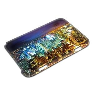 Städte 10019, Wolkenkratzer, Design Gloss 3D Hard Case Hülle Shutzhülle Handytasche Tasche für Samsung Note 8.0 N5100.