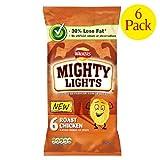 Walkers Mighty Lights Roast Chicken 6 x 25g