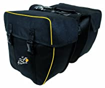 Tour De France Rear Pannier Bag (Black, 34 x 17 x 30 cm)