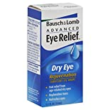 Bausch & Lomb Advanced Eye Relief Lubricant Eye Drops, Rejuvenation, Dry Eye, 0.5 fl oz (15 ml)
