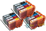The Ink Squid Compatible Ink Cartridges. Replacement for HP 364 & HP 364 XL (3 x Black, 3 x Cyan, 3 x Magenta, 3 x Yellow). Compatible with HP Photosmart B010a B010A B109n B109d B109a B109q B109f Special Edition B109c B109 B109n B109d B109a B109q B109f B