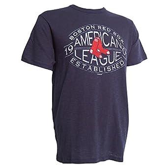 '47 Brand. Mens Boston Red Sox Basic Scrum Tee - American League Est. 1901 - Navy (S)