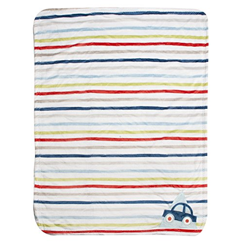 Kidsline Roadmap Velour Sherpa Blanket