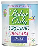 Babys Only Organic Dairy with DHA & ARA Formula, 12.7 Ounce