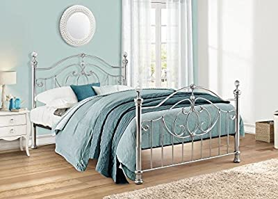 Happy Beds Lexington Metal Bed Modern Bedroom Furniture Mattress