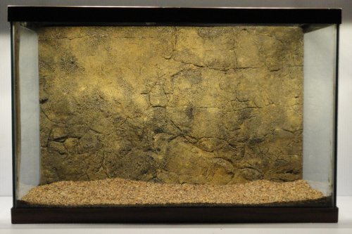 Universal Rocks 30-Inch by 18-Inch Rocky Aquarium/Reptile Rigid Foam Background