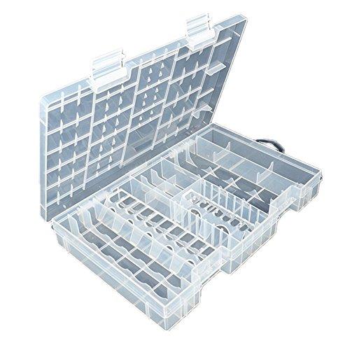 VIKEN-Akku-Batterie-Aufbewahrungsbox-Organizer-fr-Batterien-Schutzbox