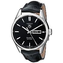 TAG Heuer Men's WAR201A.FC6266 Analog Display Automatic Self Wind Black Watch