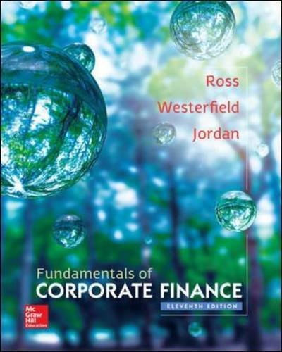 Fundamentals of Corporate Finance (The Mcgraw-Hill/Irwin Series in Finance, Insurance, and Real Estate)