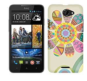 TrilMil Printed Designer Mobile Case Back Cover For HTC Desire 516
