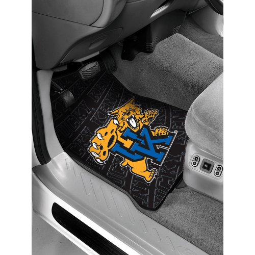 The Northwest Company NCAA Kentucky Wildcats Car Front Floor Mat Set (Kentucky Wildcats Car Mats compare prices)