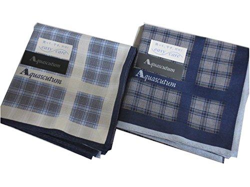 aquascutum-mens-handkerchief-2-pieces-set-blue-navy