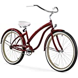 Firmstrong Bella Fashionista Beach Cruiser Bicycle, 26-Inch
