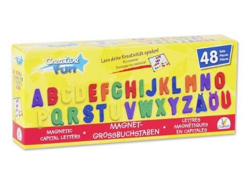 Imagen principal de Toy Company 12972 - Letras magnéticas grandes (48 piezas) [importado de Alemania]