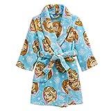 Frozen Elsa Anna Girls Blue Fleece Robe