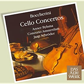 Boccherini : Cello Concerto No.4 in C major G477 : II Adagio