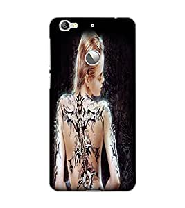 LE ECO LE 1S TATTO GIRL Back Cover by PRINTSWAG