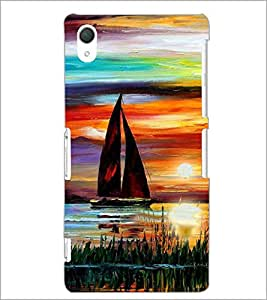 PrintDhaba Painting D-4892 Back Case Cover for SONY XPERIA Z2 (Multi-Coloured)