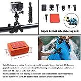 Zubehr-fr-GoProccbetter-50-in-1-Sport-Action-Kamera-fr-Hero-4-Session-Hero-1-2-3-3-mit-ccbetter-CS710-CS720W-SJ4000-5000-6000-7000-Xiaomi-Yi-mit-Tragetasche-schwarz