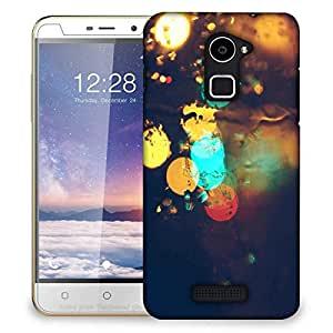 Snoogg Rain lights Designer Protective Back Case Cover For Coolpad Note 3 Lite