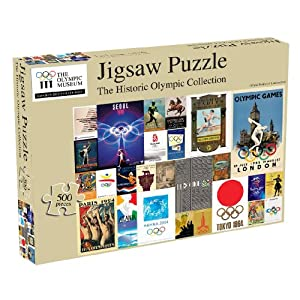 Historic Olympic Posters 500 piece Jigsaw