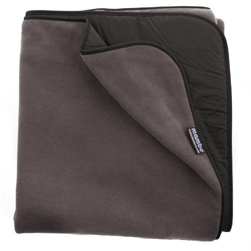 Mambe Extreme Outdoor Blanket (Large, Charcoal)