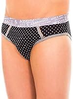 Baci & Abbracci Pack x 2 Slips (Negro / Blanco)