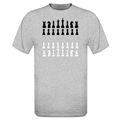 Camiseta con Piezas de Ajedrez