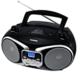Telefunken RC1003M tragbarer MP3-CD-Player schwarz