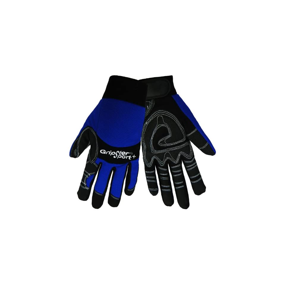 Global Glove SG9001 Aireflex Leather Gripster Sport Plus Glove, Work, Extra Large (Case of 48)