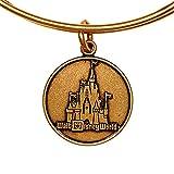 Disney Parks Alex and Ani Magic Kingdom Cinderella Castle Gold Bracelet