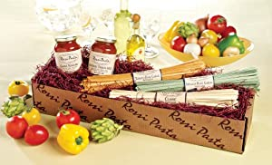 Three Pasta / Two Sauce Gift Box (Three Flavors of Fettuccini and Two All-Natural Sauces)