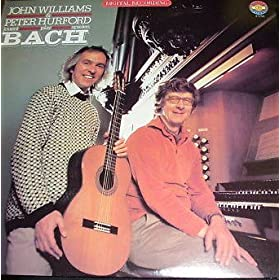 John Williams & Peter Hurford-play Bach LP
